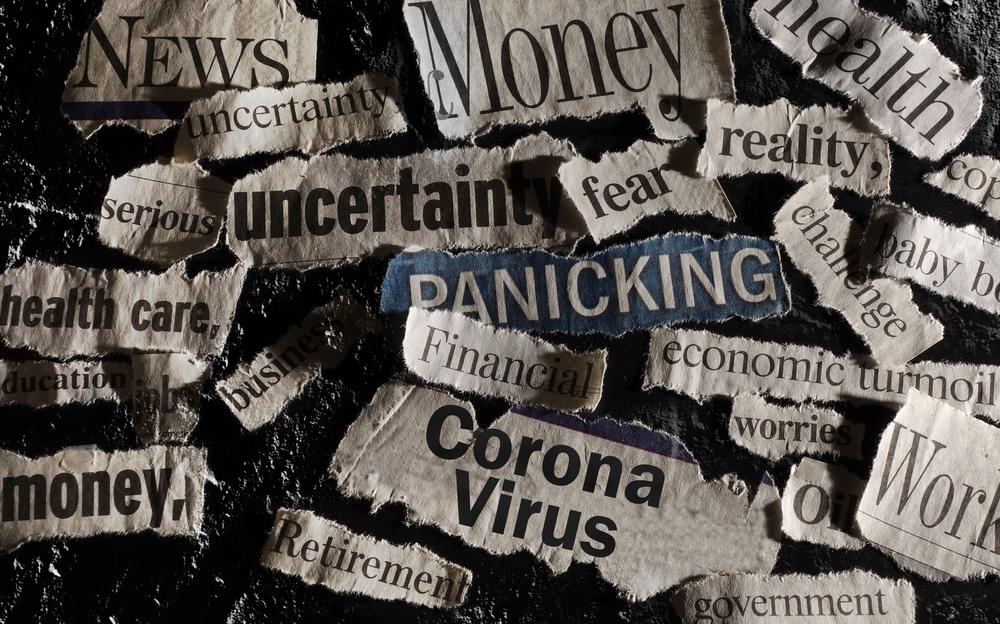 Corona,Virus,News,With,Assorted,Related,Newspaper,Headlines,Surrounding,It