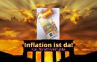 Die Inflation ist da und die Enteignung geht weiter (Video)